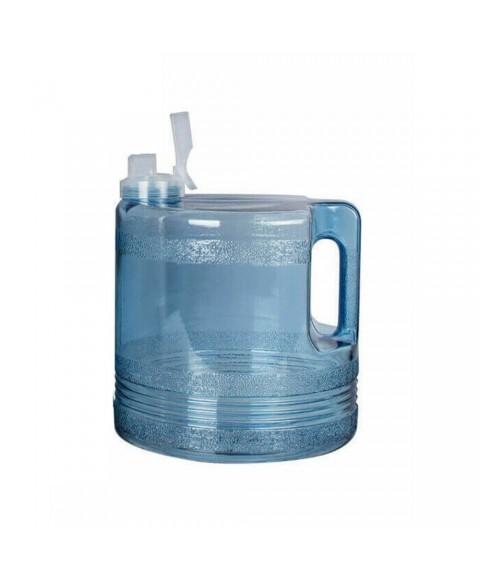 4 litrų polikarbonato vandens surinkimo indas distiliatoriui